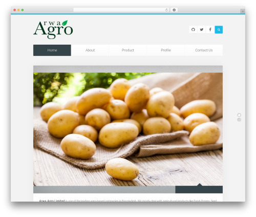 Theme WordPress Unity - arwaagro.com