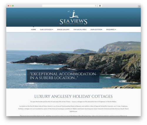 X WordPress theme - angleseyseaviews.co.uk