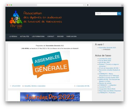 Lana Site free website theme - avval.fr