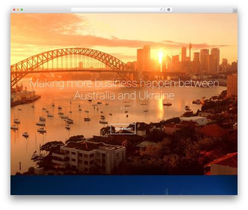 Leafage WordPress theme - aucc.biz