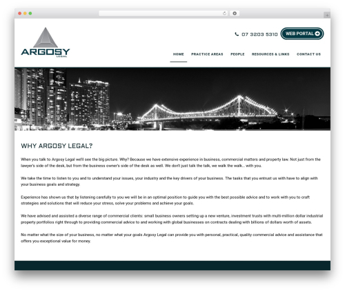 Minimum Pro Child 001 WordPress theme - argosylegal.com.au