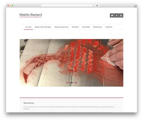 Quare WordPress theme - atelier-art-therapie.com