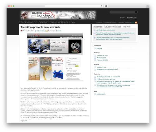 statement free WordPress theme - actualidad.tecnolinea.es