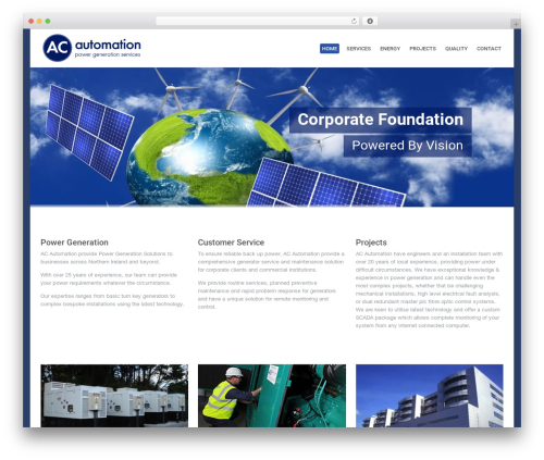 Theme WordPress System - acautomation.co.uk