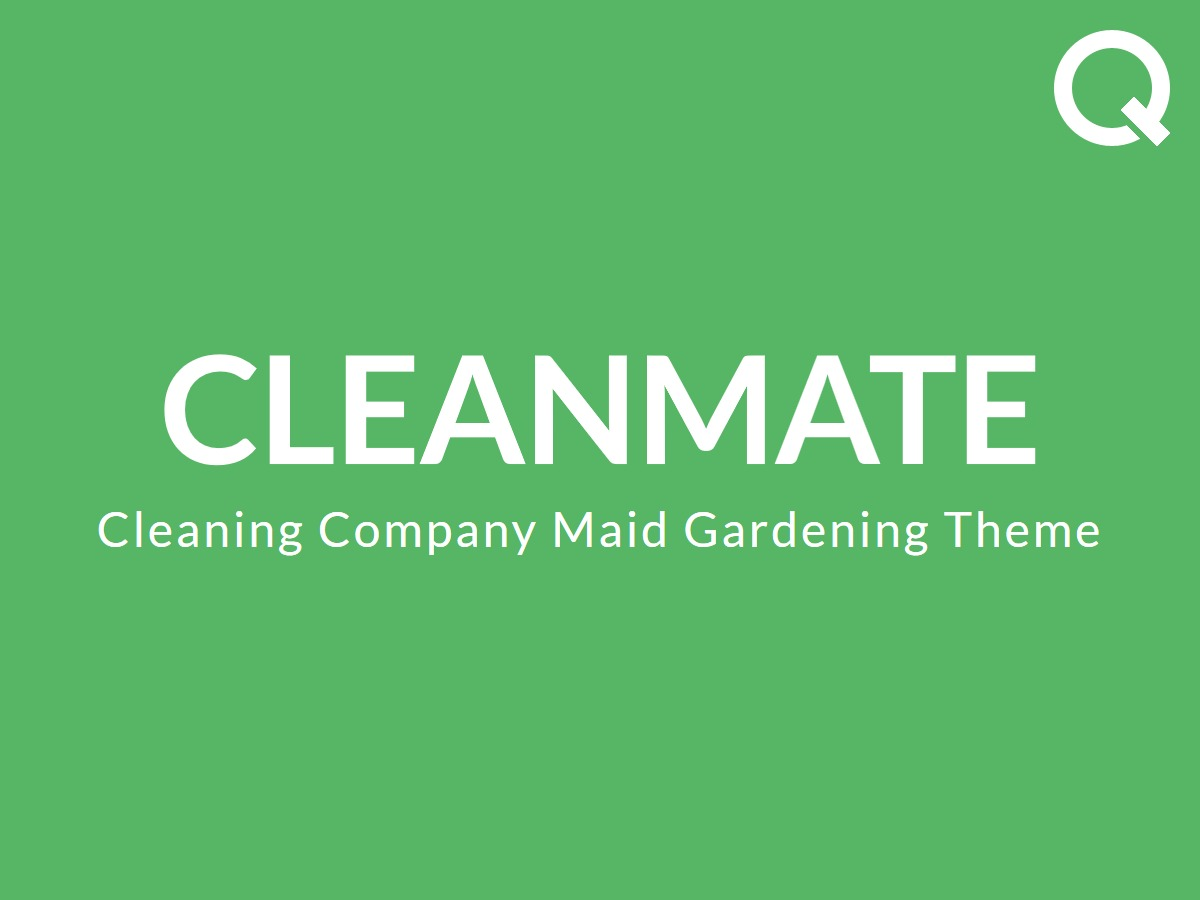 CleanMate WordPress template for business