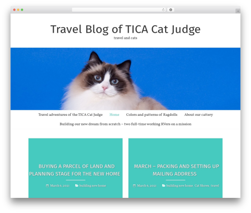 Freedom best free WordPress theme - aurumcats.com