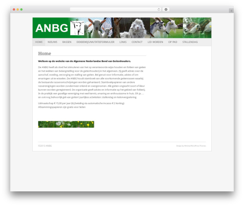 Fresh And Clean WP template - anbg.nl