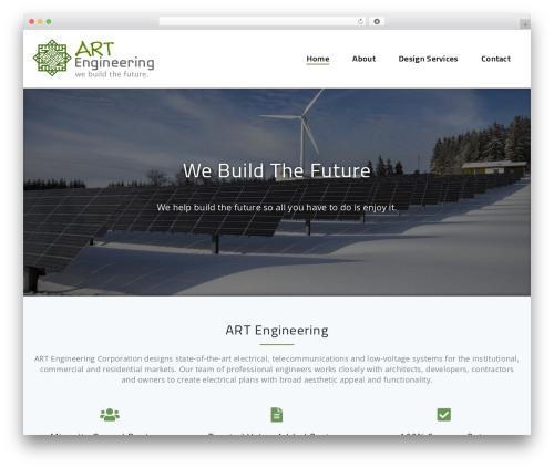 Parallel Pro WordPress page template - artengineeringcorp.com