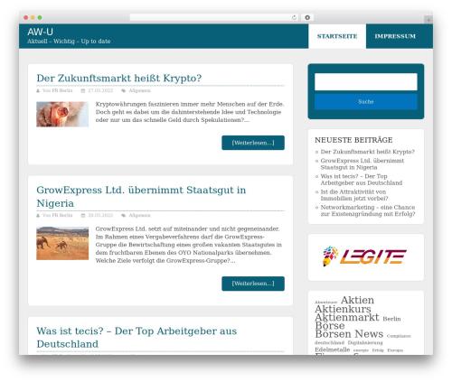 Schema Lite WordPress free download - aw-u.de