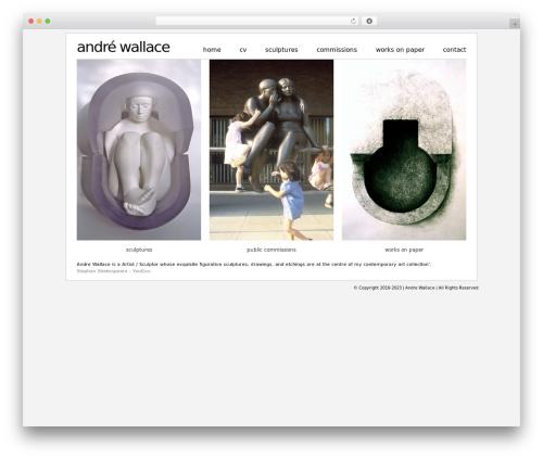 Simon WP Framework best WordPress template - andre-wallace.co.uk