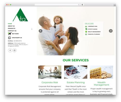 Theme WordPress Advisor - atas.com.sg