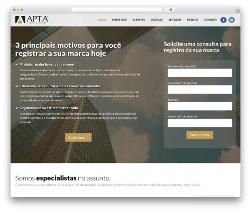 Theme WordPress Crossway - aptamarcas.com.br