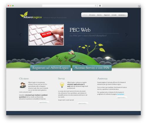 Theme WordPress Webly - albero-logico.it