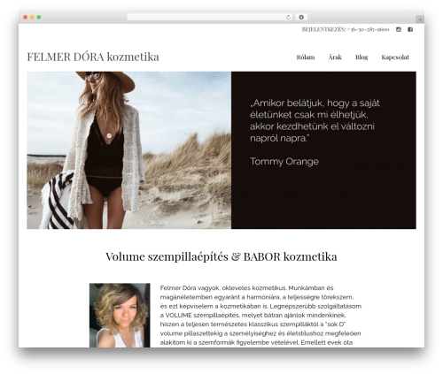 Virtue WordPress template - aromamania.hu