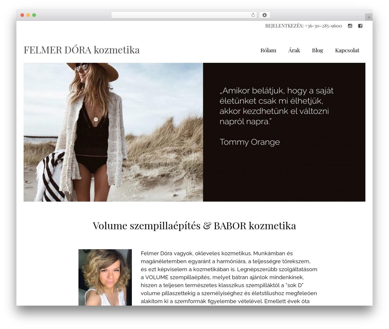 Virtue WordPress template - aromamania.hu