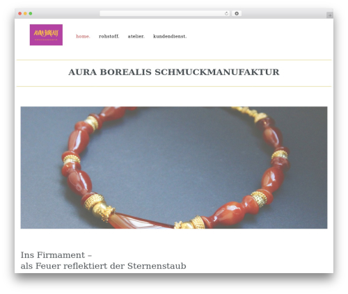 WP Omnia top WordPress theme - auraborealis.ch