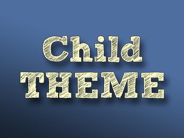 Child Theme Vs 1.0 WordPress theme