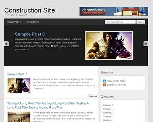 Columbus Theme WordPress blog theme