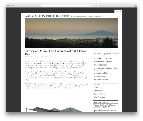 Free WordPress Awesome Flickr Gallery plugin - ayton.id.au/wp02