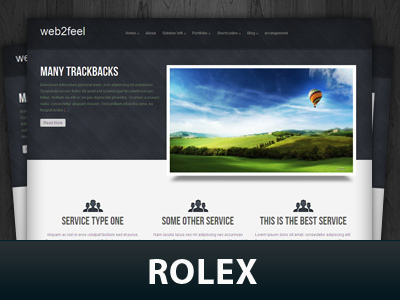 WordPress theme Rolex