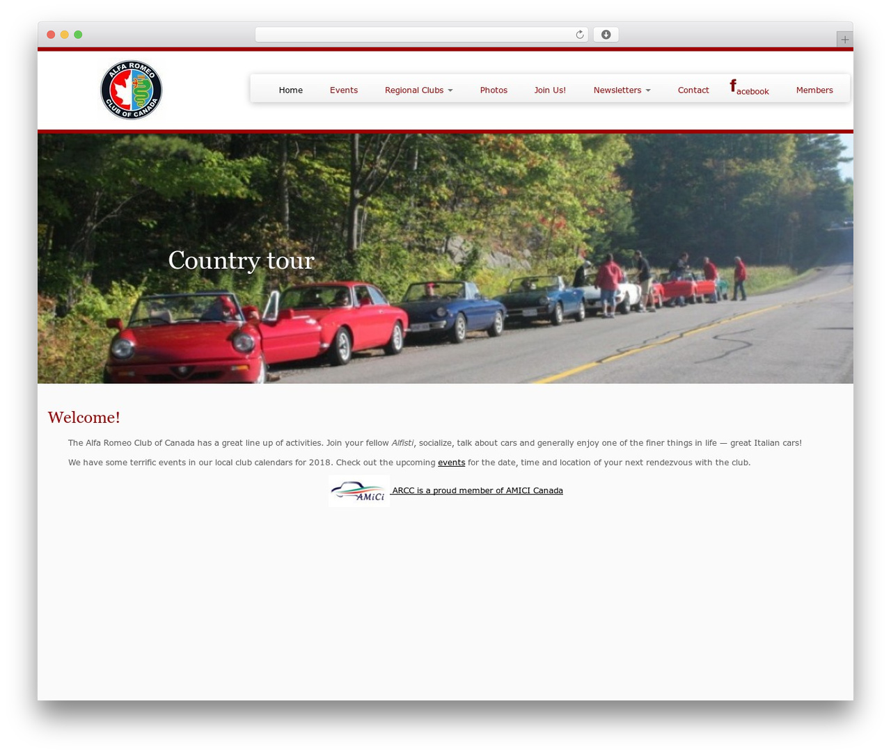 Customizr best WordPress template - alfaclub.ca