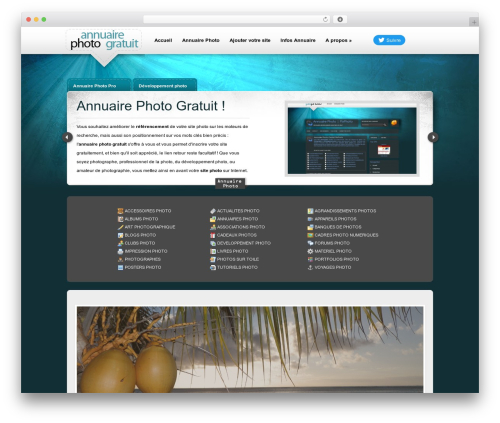 eBusiness WordPress template for business - annuaire-photo-gratuit.fr