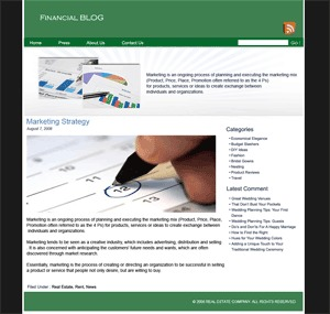 Future Financial Themes WordPress theme