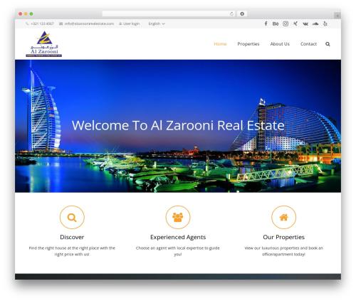 Impreza | Shared By Themes24x7.com WordPress real estate - alzaroonirealestate.com