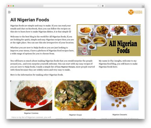 Free WordPress DW Question & Answer plugin - allnigerianfoods.com
