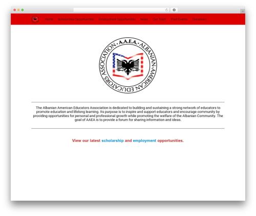 Free WordPress Organic Builder Widgets plugin - albanianamericaneducators.org