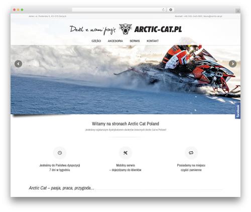 WordPress theme Lounge - arctic-cat.pl
