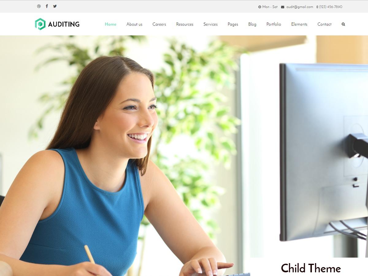 Auditing Child WordPress theme