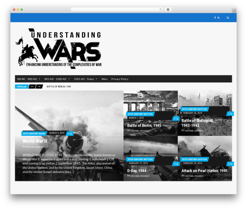 Best WordPress theme Public Opinion - understandingwars.com