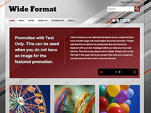 Color Collection: Wide Format theme WordPress