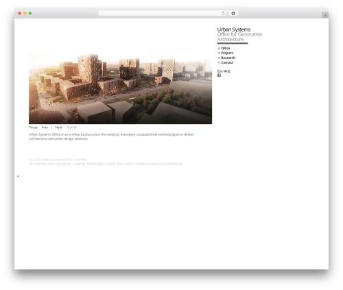 DarkOrange WordPress theme free download - urban-systems-office.com