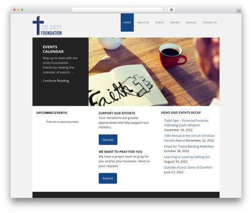 Free WordPress AGP Font Awesome Collection plugin - unityfoundation-alexandria.com