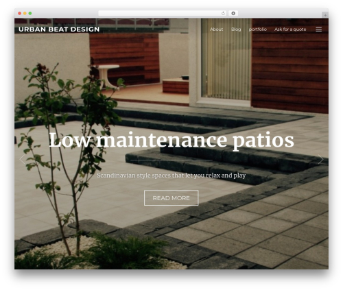 Inspiro top WordPress theme - urbanbeatdesign.com