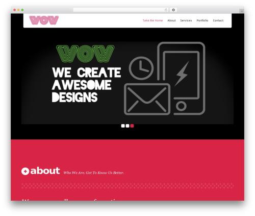 Kronos WP best WordPress theme - wowdesignservices.com