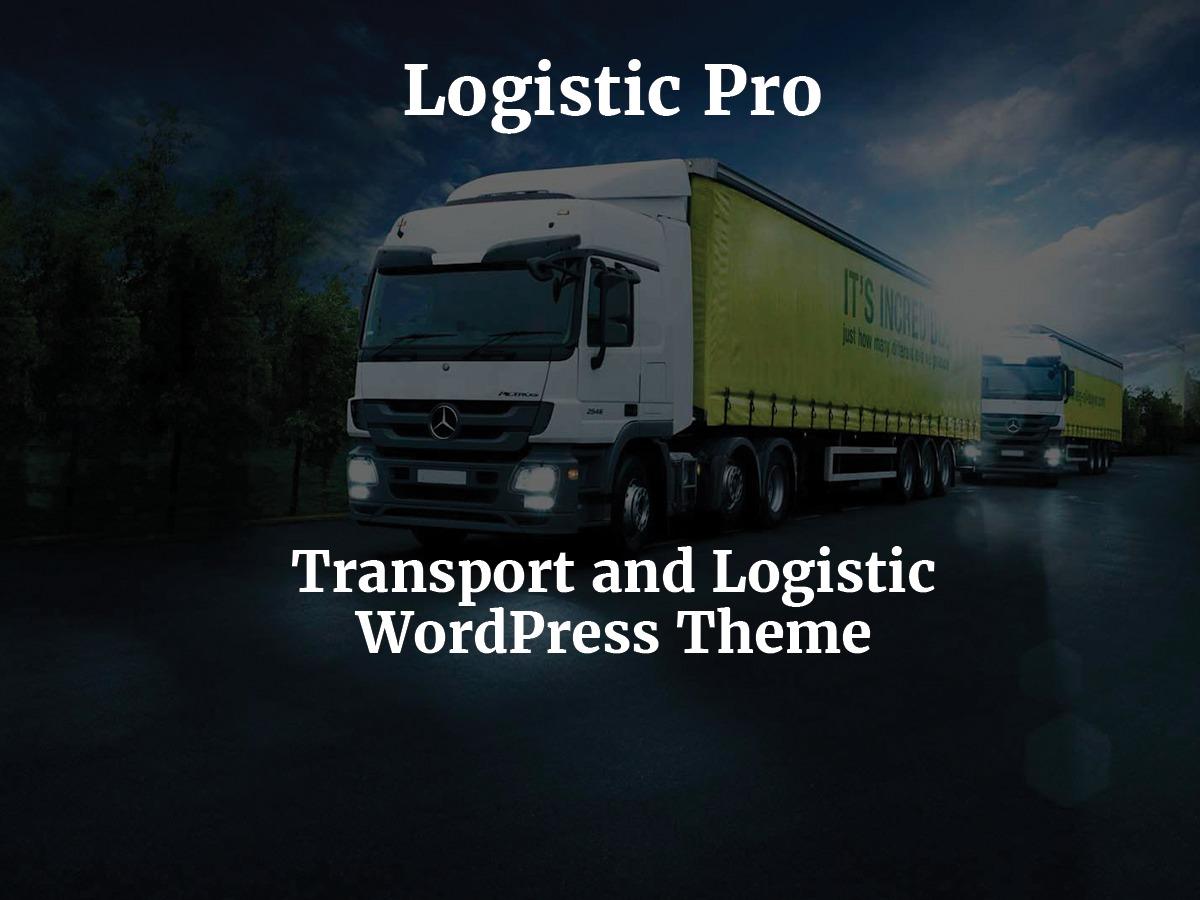 Logistic Pro WordPress theme