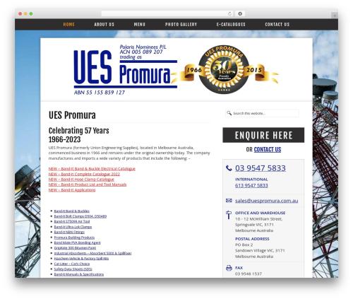 Free WordPress Page-list plugin - uespromura.com.au