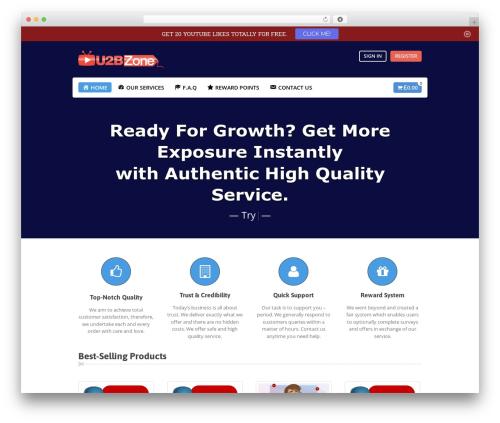 Makery top WordPress theme - u2bzone.com