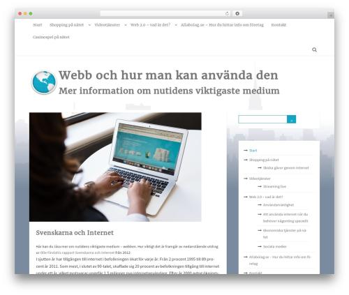 MayaSilk theme WordPress - uninel.se