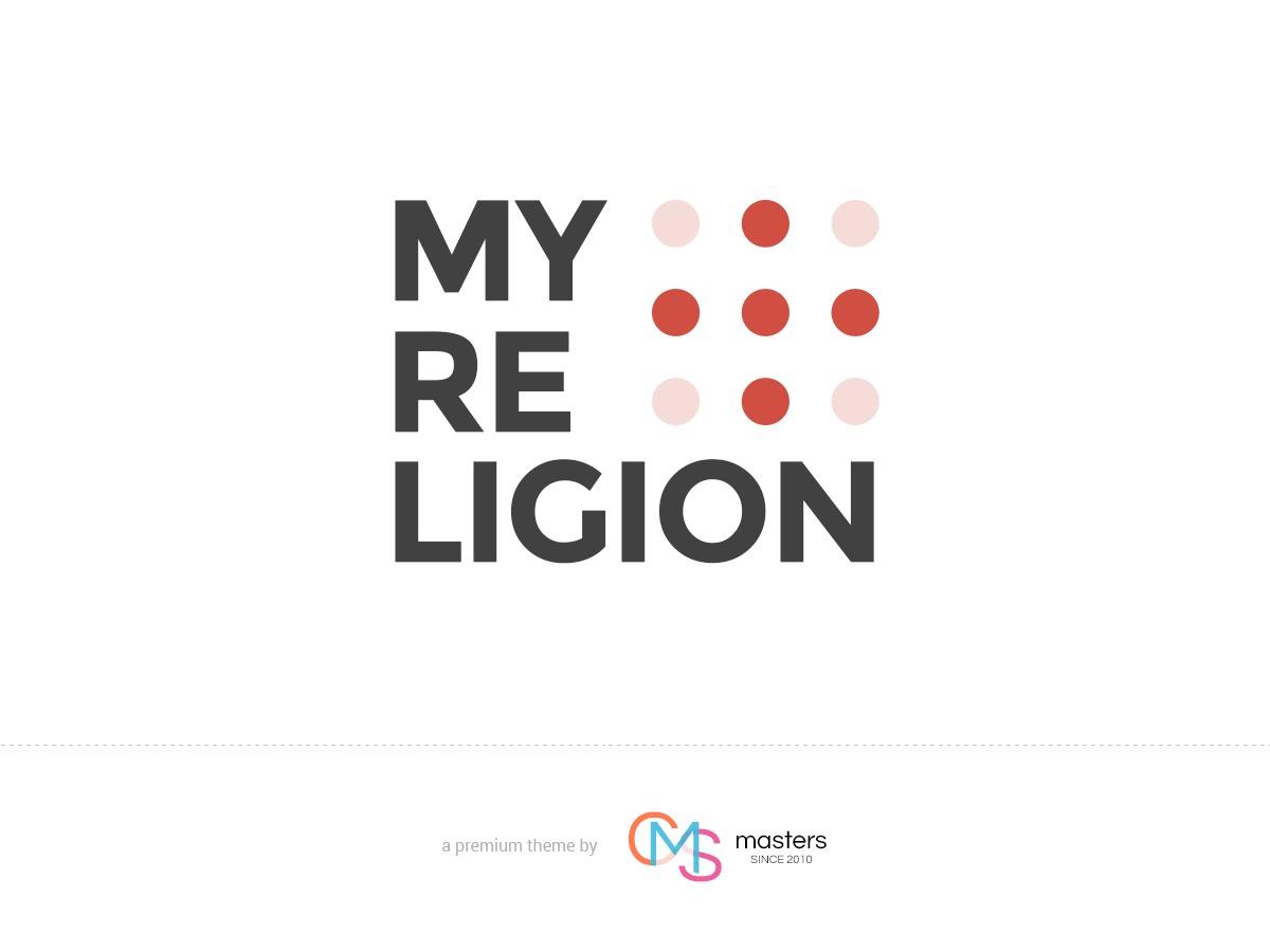 My Religion WordPress blog theme