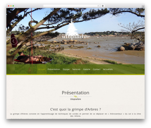 NatureWPThemes theme WordPress - utopiarbre.fr