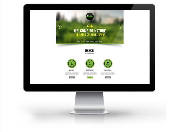 NatureWPThemes WordPress template