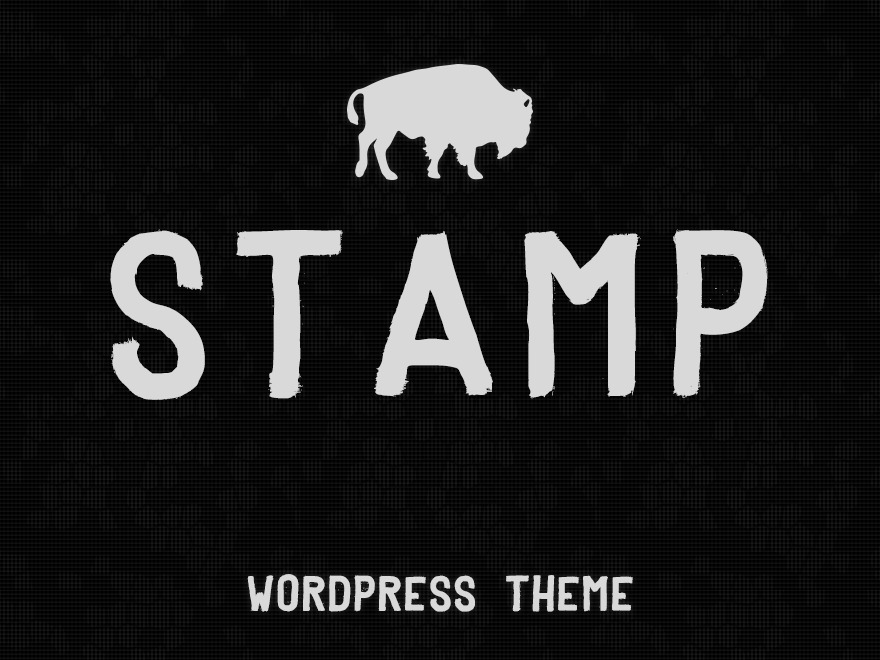 Stamp premium WordPress theme