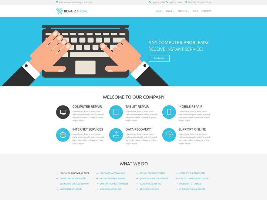 theme53761 best WordPress template