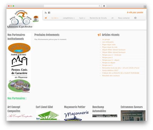 WordPress template Customizr - ucepf.fr