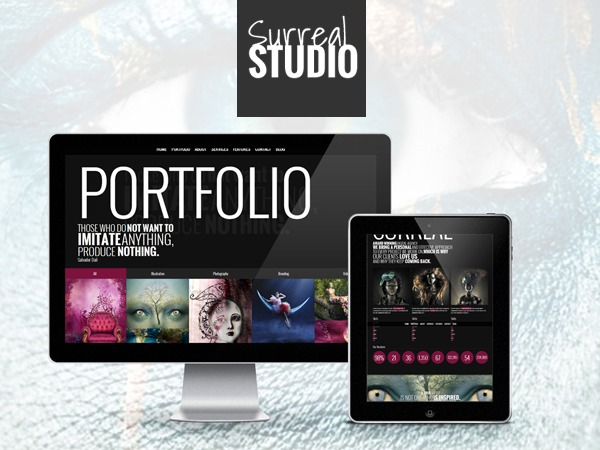 WordPress template SurrealTF (Share on Theme123.Net)