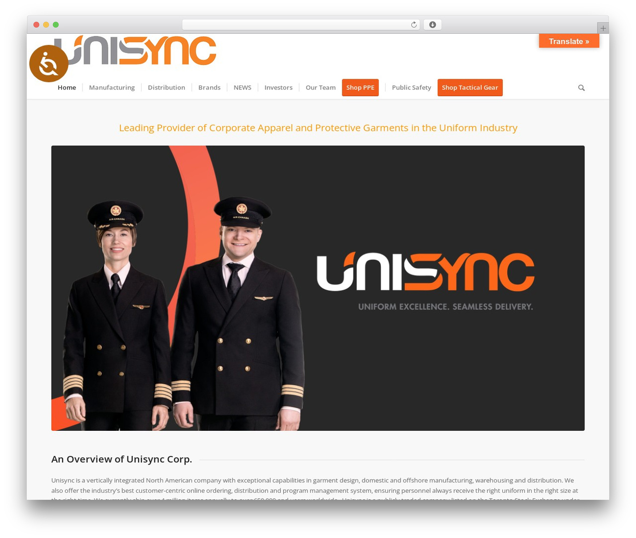 WordPress theme Enfold - unisyncgroup.com